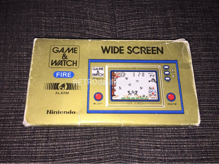 Game & Watch Nintendo FIRE 4