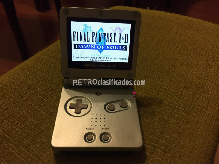 Final Fantasy I y II Dawn of Souls GBA 5