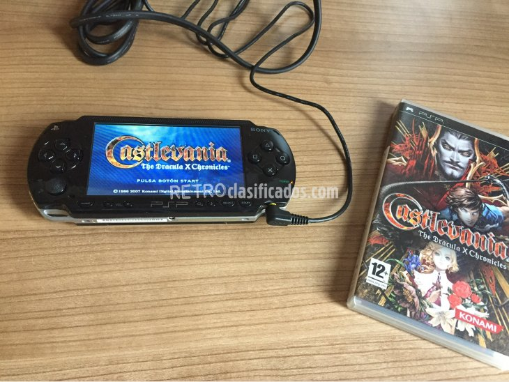 Castlevania The Dracula X Chronicles PSP 2
