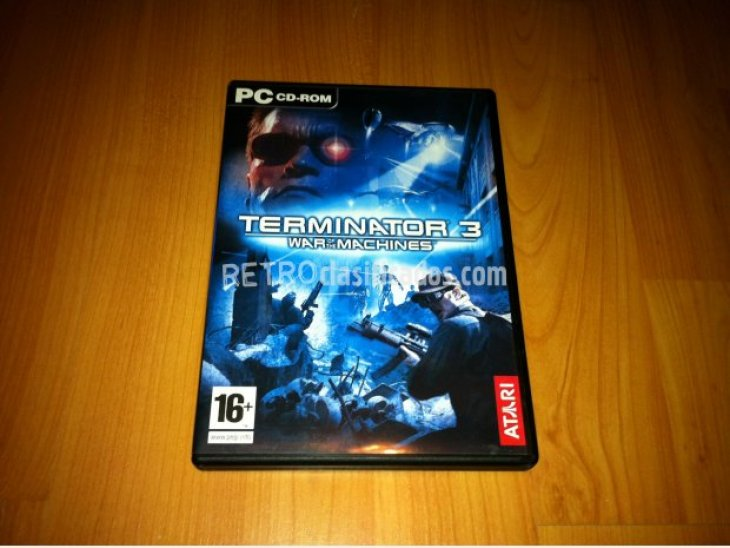 TERMINATOR 3 WAR OF THE MACHINES PC 2