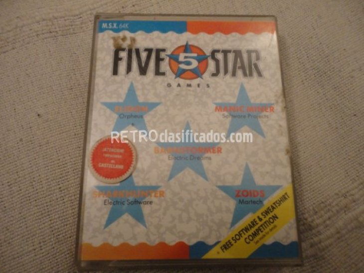 Pack Five Star Games 1