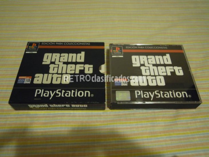 PS1 GRAND THEFT AUTO ED.COLECC. NUEVO 3