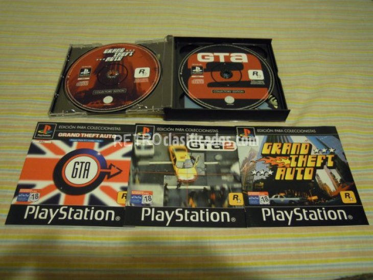 PS1 GRAND THEFT AUTO ED.COLECC. NUEVO 5