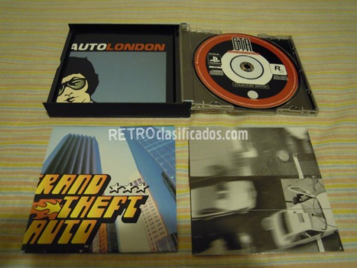 PS1 GRAND THEFT AUTO ED.COLECC. NUEVO 6