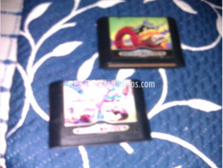 Vendo biohazard battle y megagames 1