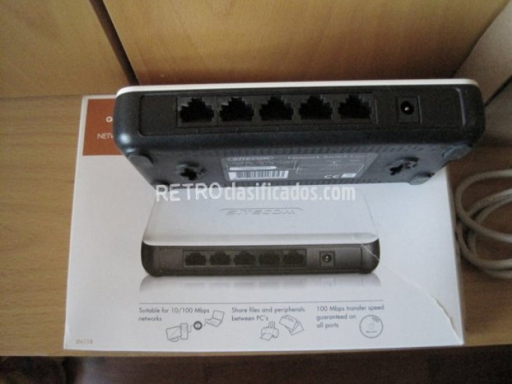 NETWORK SWITCH 5 PORT 2