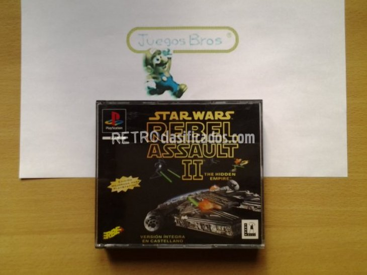 Star Wars Rebel Assault ll  Lucas Arts 1