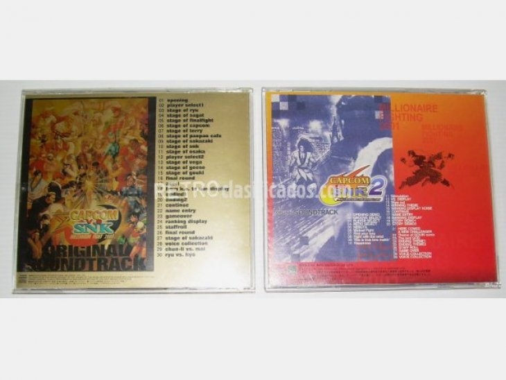 Capcom vs SNK 2000 / 2001 OST/BSO 2
