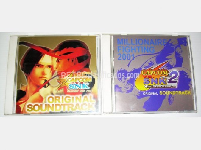 Capcom vs SNK 2000 / 2001 OST/BSO