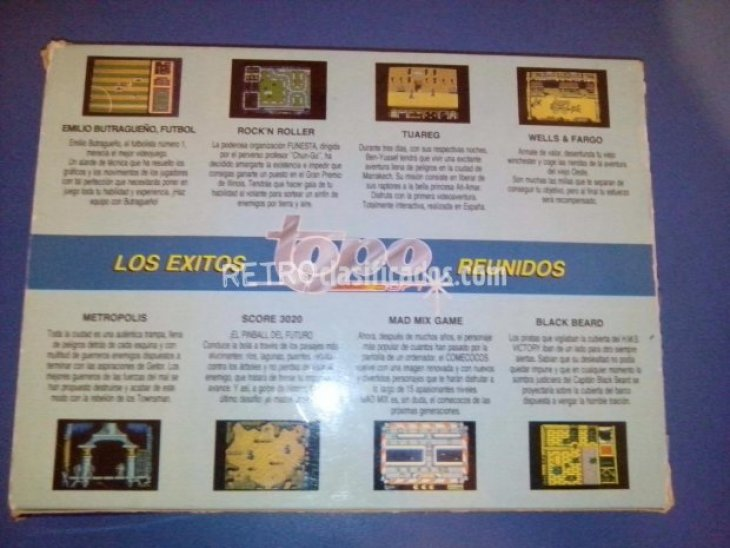 Vendo Pack Top by Topo de Amstrad CPC 1