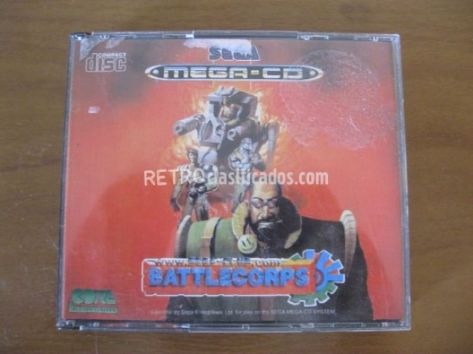 Battlee corps mega cd