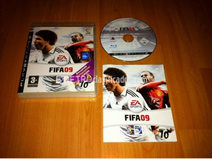 FIFA 09 Juego original PlayStation 3 1