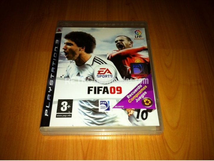 FIFA 09 Juego original PlayStation 3 2