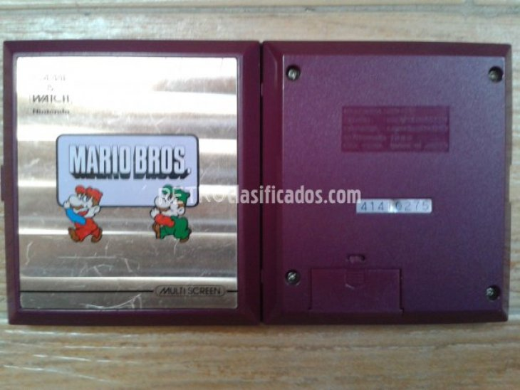 NINTENDO GAME WATCH MARIO BROS 2