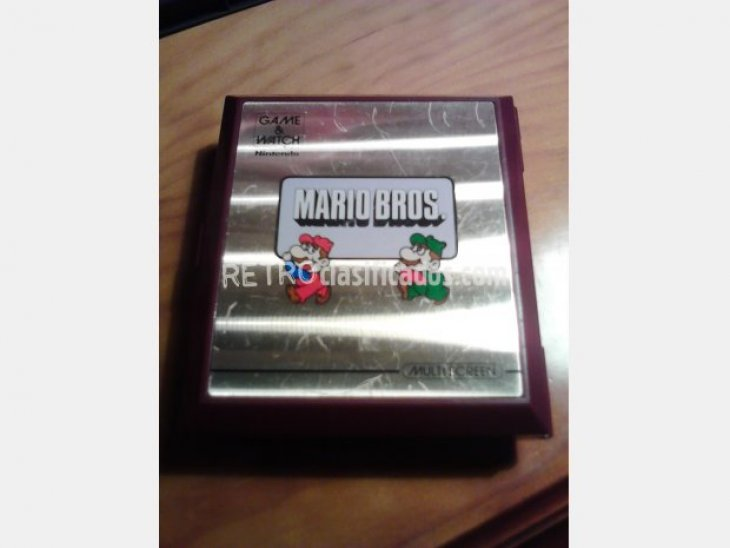 NINTENDO GAME WATCH MARIO BROS 4