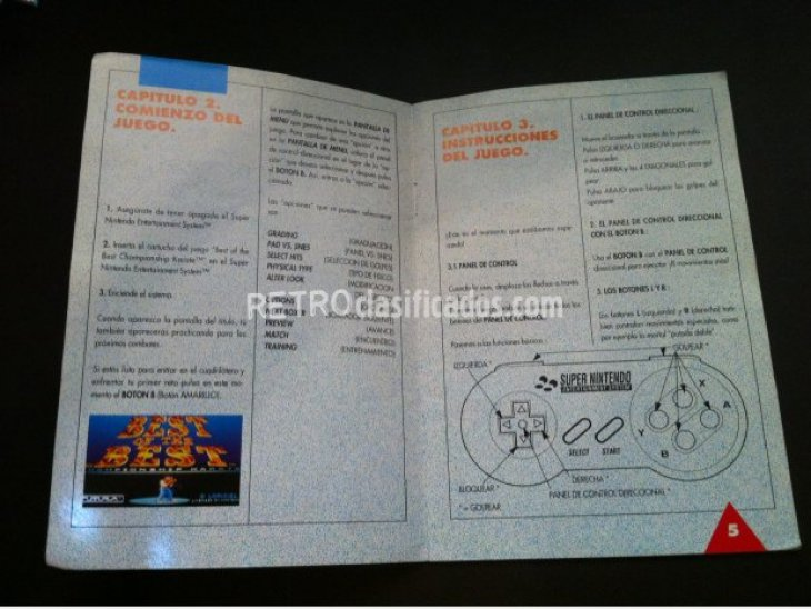 Instrucciones juego Best of the best 2