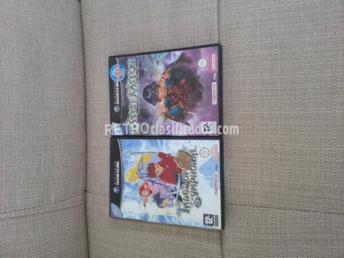 Lote Baten Kaitos y Tales of Symphonia