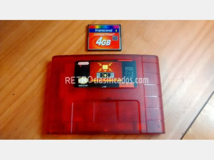 Flashcart PowerPak 4GB SNES como nuevo