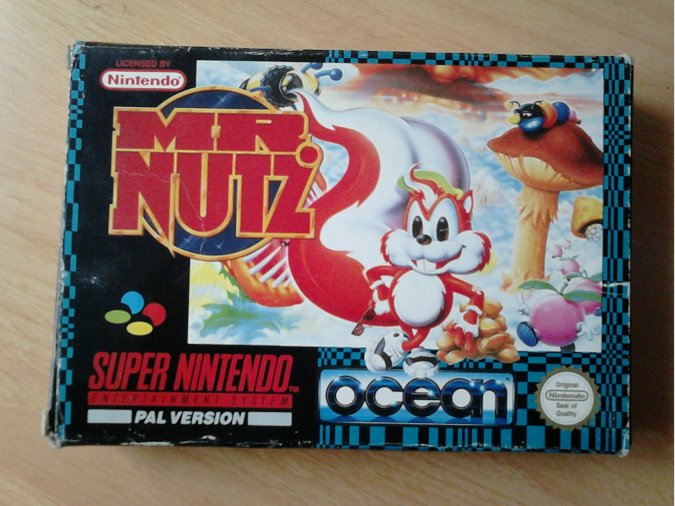MR NUTZ SNES PAL ESPAÑA
