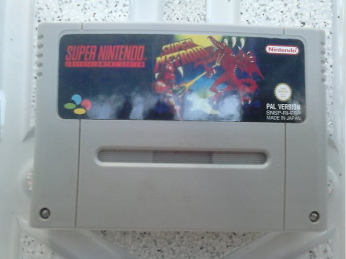 SUPER METROID+SECRET OF EVERMORE SNES