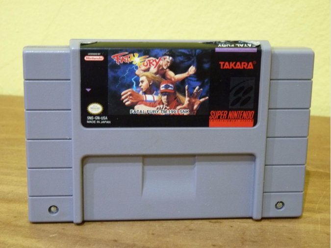 FATAL FURY SNES NTSC USA