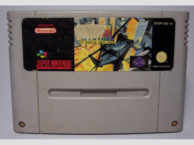 URBAN STRIKE SNES