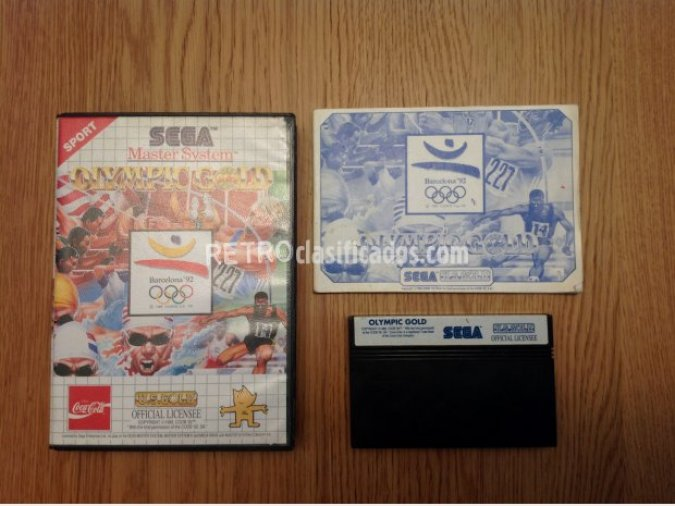 OLYMPIC GOLD BARCELONA MASTER SYSTEM PAL