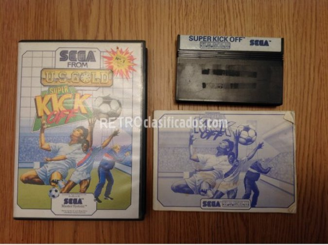 SUPER KICK OFF MASTER SYSTEM PAL