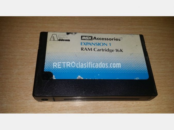 Addeom Expansion RAM Cartridge