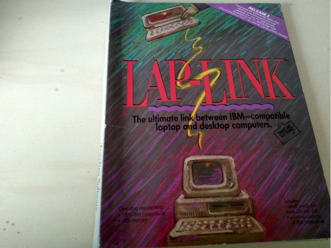 Laplink IBM-PS/2 - Traveling Software
