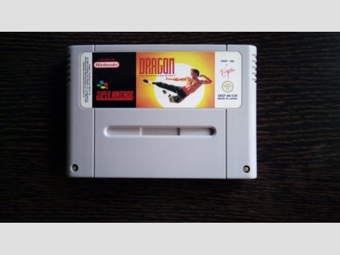 Dragon The Bruce Lee Story SNES Super Nintendo