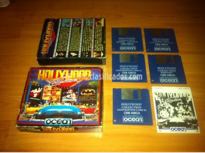 Hollywood Collection Commodore Amiga