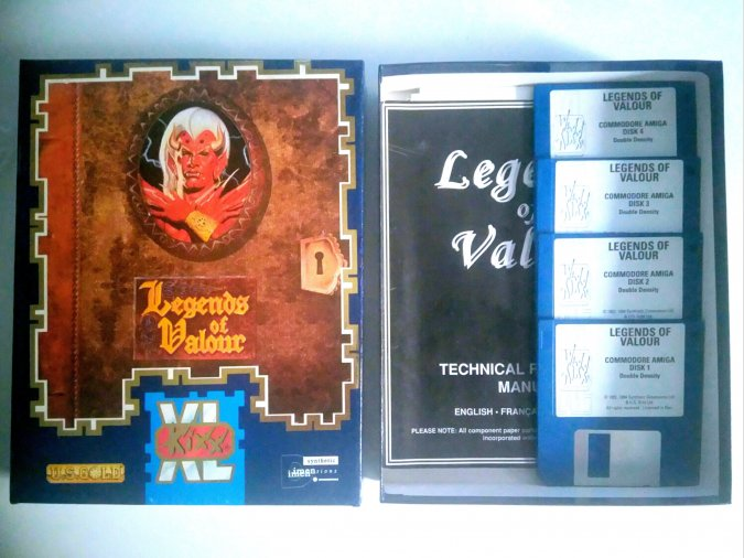 Legends of Valour Commodore Amiga