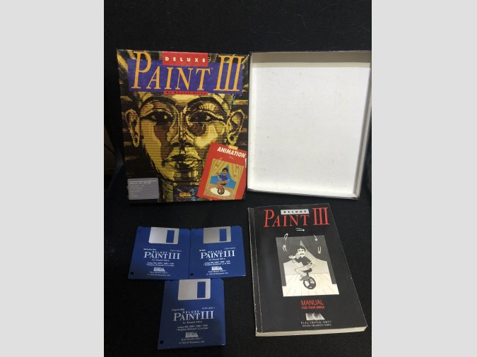 Software Commodore Amiga Deluxe Paint 3