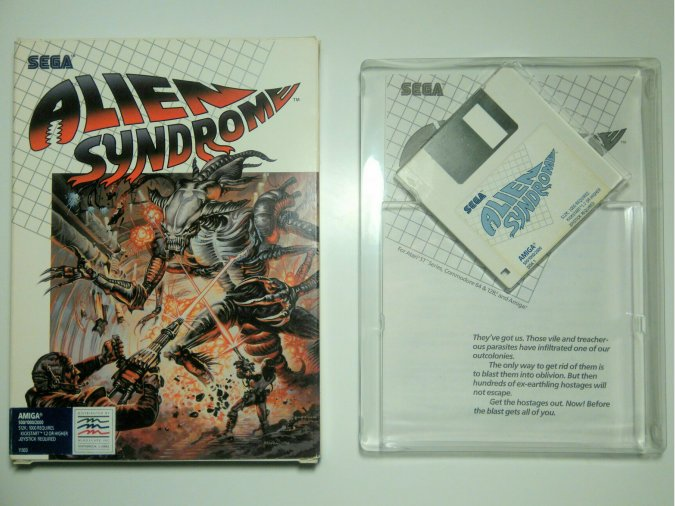 Alien Syndrome Commodore Amiga