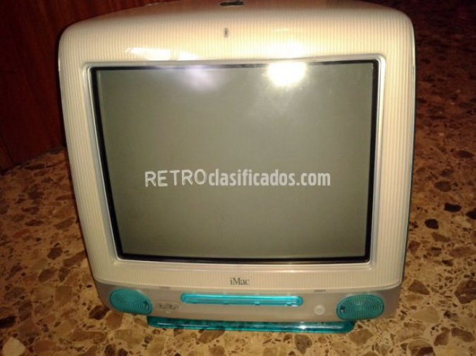 Apple iMac azul