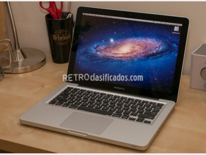 "Macbook Pro 13"" SSD 256GB y 16GB RAM"