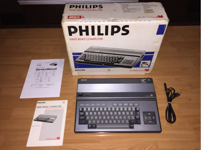 MSX2 Phillips NMS8245 System Computer Boxed