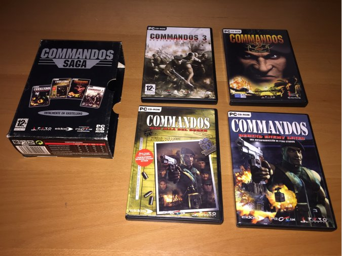 Commandos Saga juego original PC