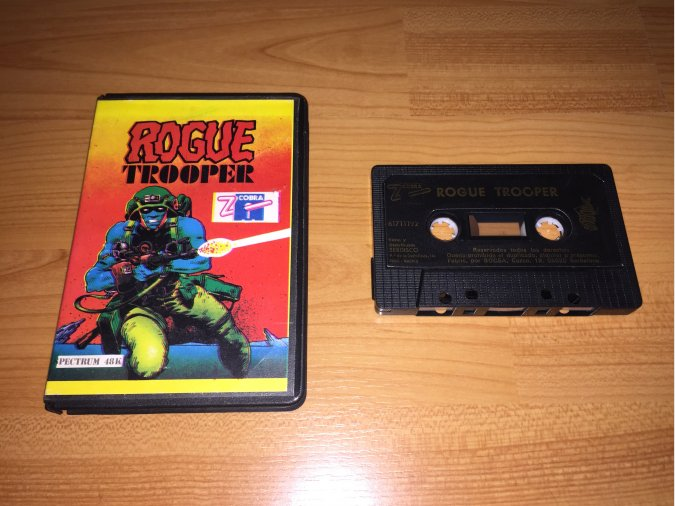 Rogue Trooper juego original Spectrum