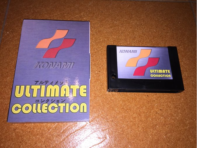 Konami Ultimate Collection juego completo MSX