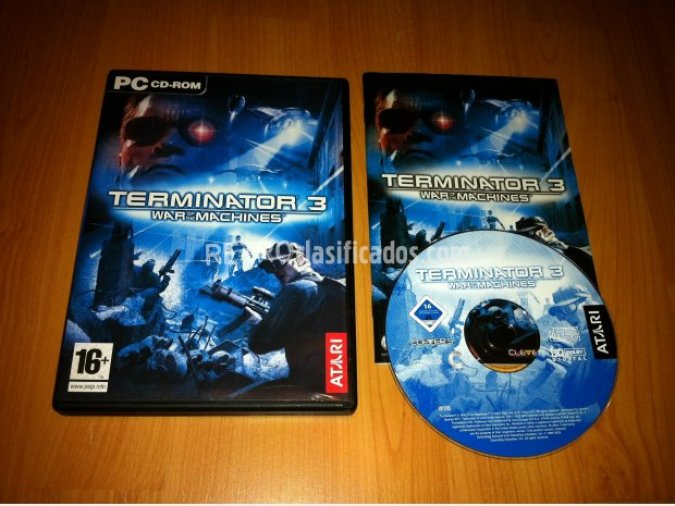 TERMINATOR 3 WAR OF THE MACHINES PC