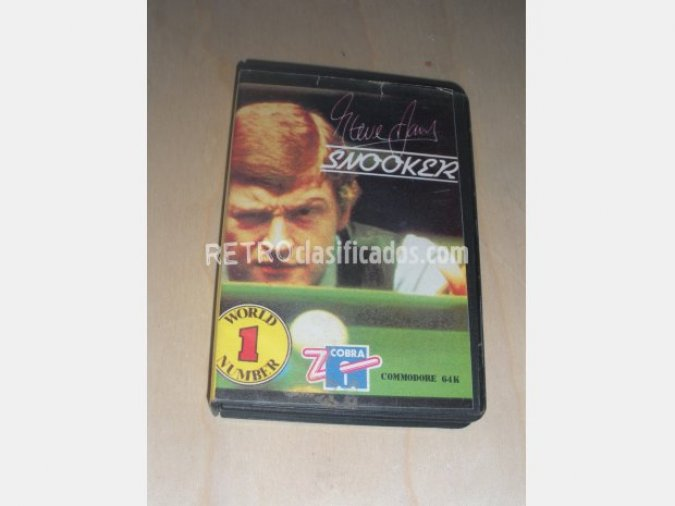 SNOOKER Juego COMMODORE