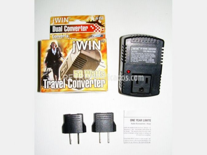 Step Up/Down Convierte 110/120v-220/240v