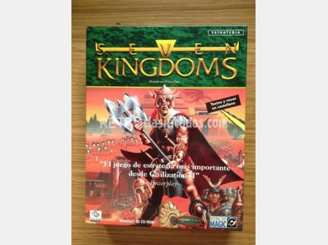 SEVEN KINGDOMS (RTS) PC