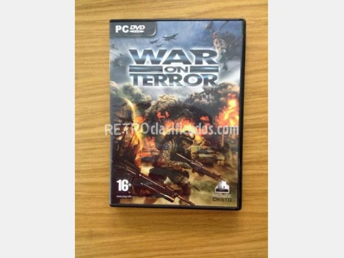 WAR ON TERROR (RTS) PC