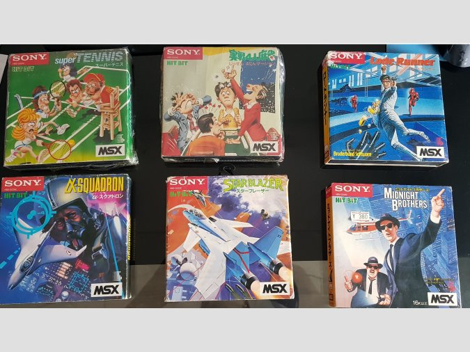 Pack 6 juegos Sony MSX