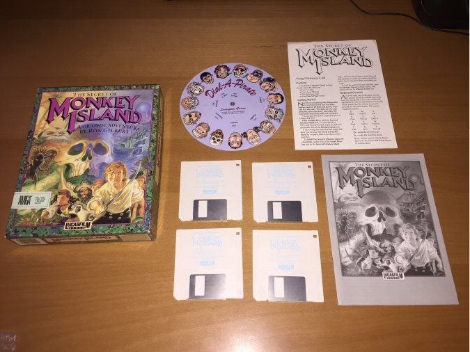 The Secret of Monkey Island Amiga