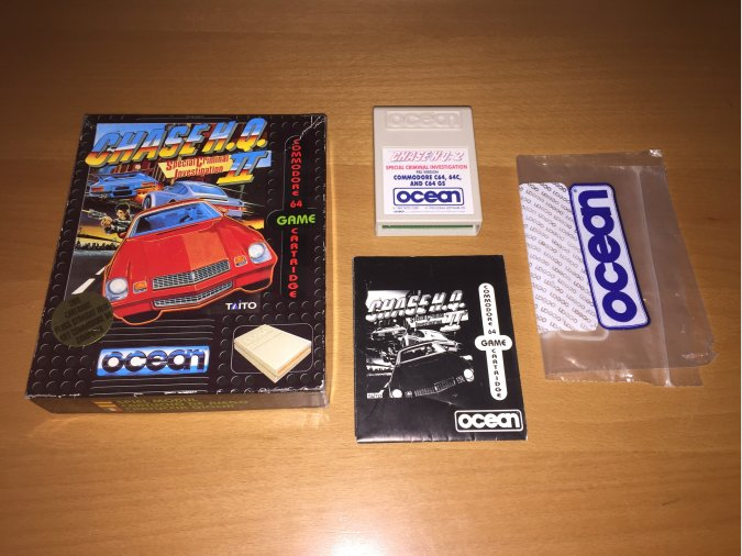 Chase HQ 2 juego original Commodore 64