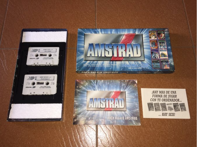 Pack Regalo Amstrad Dinamic